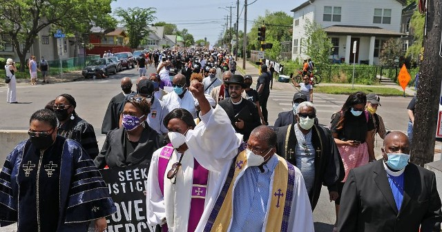 MN Clergy Protest George Floyd Killing